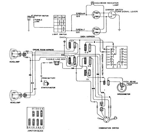 75 datsun 280z wiring diagram 75 get free image about