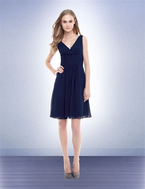 Navy Bridesmaid Dress by Navy Blue Chiffon Bridesmaid Dresses Cherry