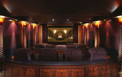luxury home theater landry design group  high