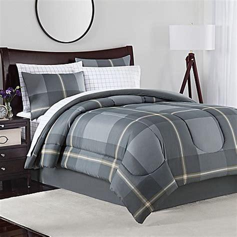 Jaden Set jaden comforter set in grey bed bath beyond