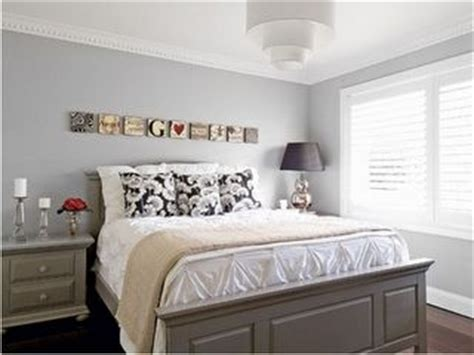 light grey walls with grey bedroom furniture