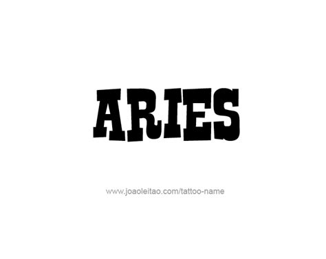 aries name design horoscope names aries 12 png