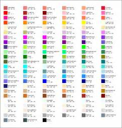 html color list how to best communicate color names to users more clearly