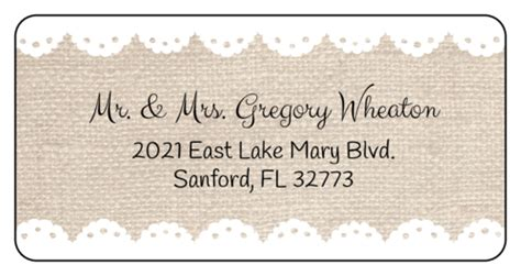 Wedding Label Templates Download Wedding Label Designs Wedding Address Labels Template