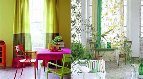 como decorar sala color verde decorar un comedor de color verde