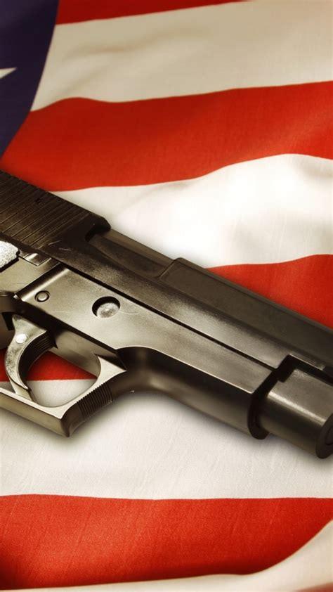 wallpaper gun pistol flag usa military