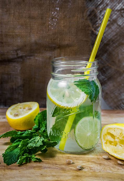 Honey Lemon And Mint Detox by 14 Flavor Packed Fruit Infused Water Recipes For Weight