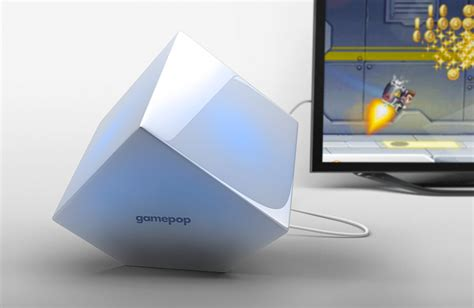 android gaming console news gamepop mini console will run ios and android megagames