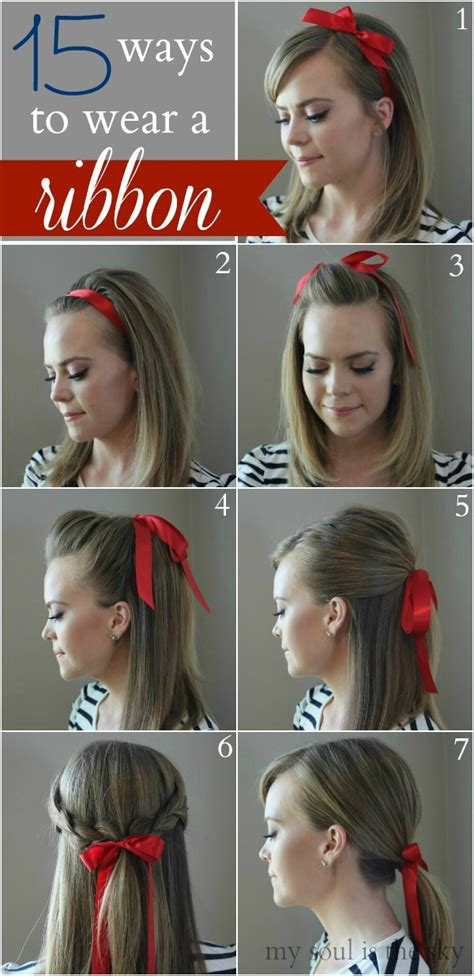 diy ribbon hairstyles hair styles archives home and heart diy