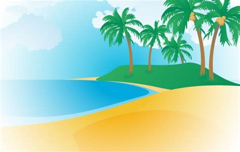 art of analog layout free download 148 tropisch strand vector gratis download