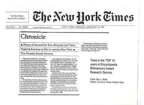 tesla new york times why nikola tesla was the greatest geekwire