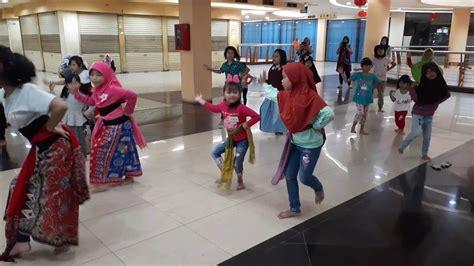 klub latihan tari anak nasional  jakarta timur youtube