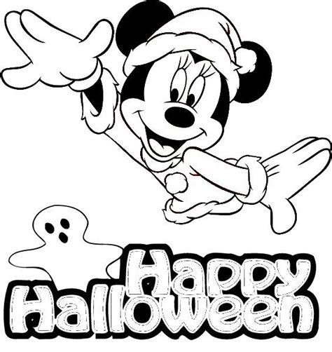 minnie mouse coloring pages halloween free disney halloween coloring pages lovebugs and postcards