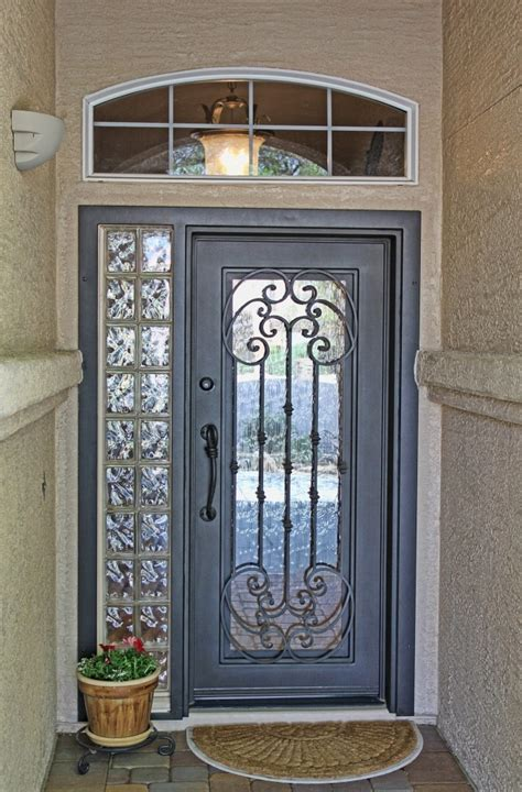 Tuscan Front Doors Tuscan Iron Entry Doors Firstimpression My Impression Inspir