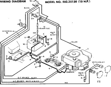 craftsman lawn tractor wiring diagram 301 moved permanently