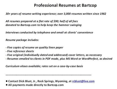 Resume Sle Last Part I Hereby Bartcop S Most Recent Rants Political Humor And Commentary