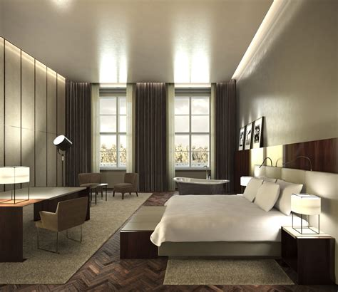 Suite Interior Design by Architectural Rendering 3d Interior Design Of A Five