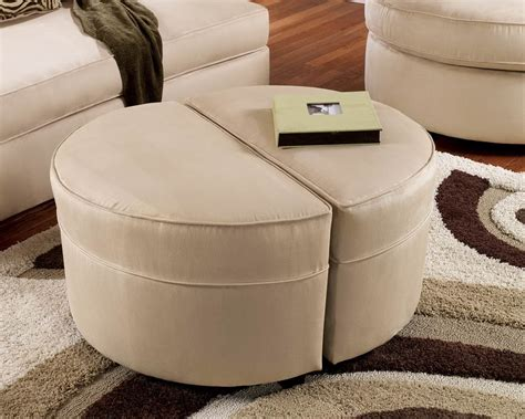 how to make a small ottoman small round ottoman giving extra update in your home decor