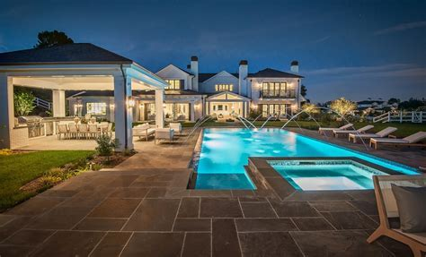 15,000 Square Foot Newly Built Traditional Mansion In