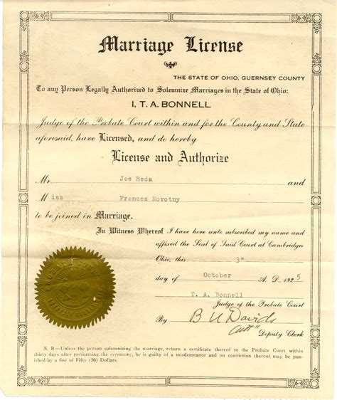 Columbus Ohio Marriage Records Wedding License Ohio Wedding Ideas 2018