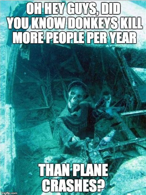 Morbid Memes - morbid fun fact skeleton meme guy