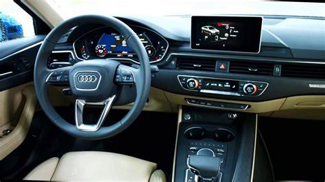 Audi A4 Interior by 2016 Audi A4 Interieur Design Automototv Deutsch Youtube