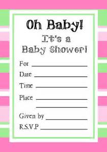 printable baby shower invitations free theruntime