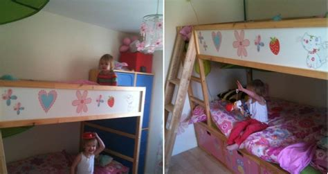 twin rooms turning single beds into double cyclingabout toddler bunk beds that turn the bedroom into a playground