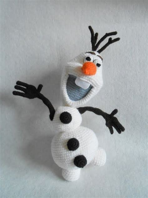amigurumi pattern olaf kasiulkowe crochet work olaf from the land of ice knit