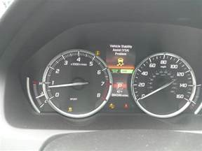 2016 acura tlx warning lights on 1 complaints