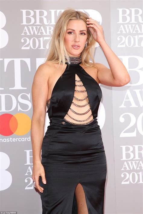 ellie goulding leads glamour at brit awards 2017 daily