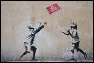 Banksy art abstract wallpapercow com