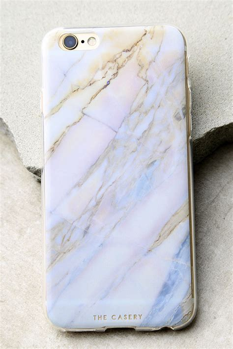 Vibes Marble Blue Iphone 6 6s Plus Casing Cover the casery shatter marble iphone 6 and 6s marble iphone 28 00