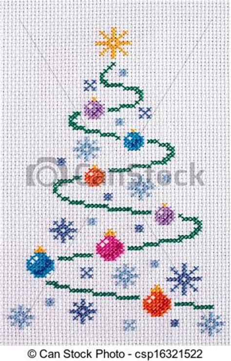 adorno de navidad punto de cruz youtube stock fotos de punto de cruz navidad 225 rbol con