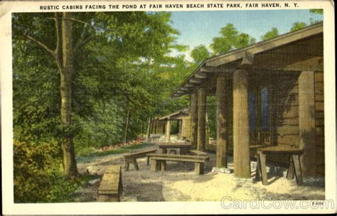 Fair State Park Cabins by Rustic Cabins Facing The Pond Fair State Park