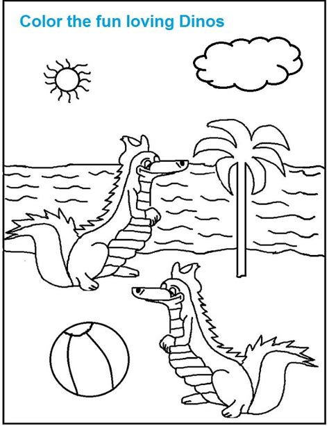 coloring page dinosaur scene how to draw village scene coloring pages