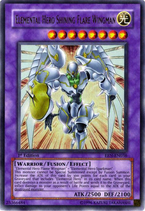 Yugioh Shining Original elemental shining flare wingman yu gi oh fandom