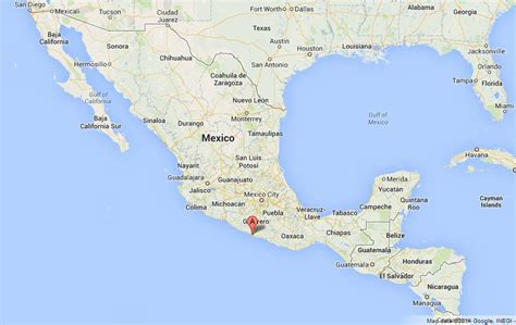 map of mexico acapulco acapulco on map of mexico world easy guides
