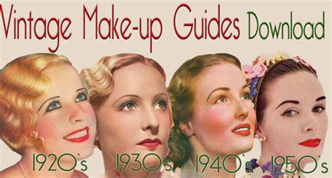 original 1940s hair tutorials uk seven step 1960 s makeup look archive film vintage