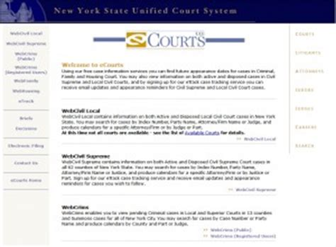 New York State Unified Court System Criminal History Record Search Ecourt Offices Of Eric Michael Pasinkoff Esq