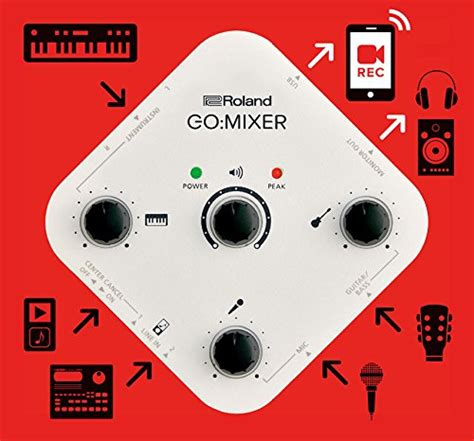 Mixer Audio Malaysia roland gomixer audio mixer for smartphones free shipping