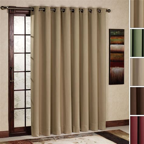 sliding glass door curtain size curtain rod size for sliding glass door window
