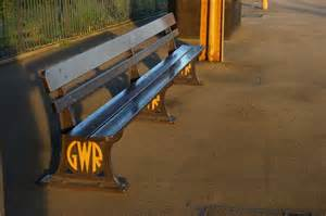 gwr bench great western railway bench leamington 169 christopher