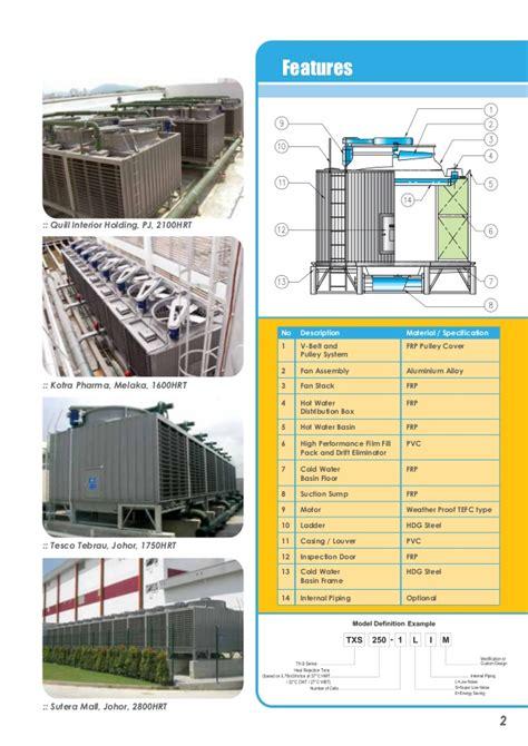 design criteria cooling tower cooling tower modular design crossflow type