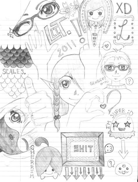 random doodle drawings random doodles by loserlinda on deviantart