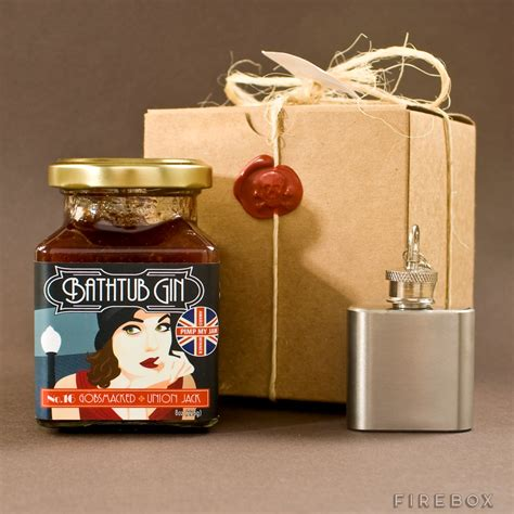 Bathtub Gin Artisanal Jam Gift Box Buy At Firebox Com