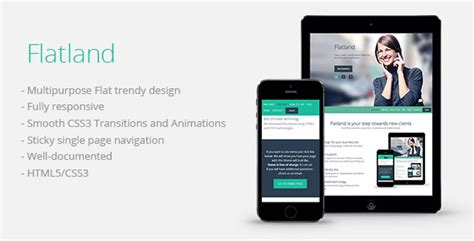 themeforest zurb foundation flatland theme for u