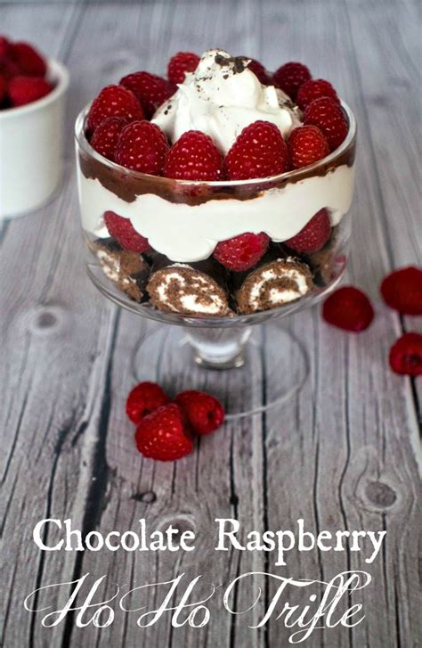 15 Ingredients And Directions Of Chocolate Raspberry Trifle Receipt by Chocolate Raspberry Ho Ho Trifle Recipe 15 Minute