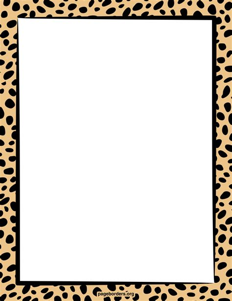 zebra border template cliparts co