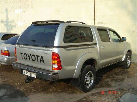 Toyota Up Hilux 2008 Toyota Hilux Up Photos 2 5 Diesel Manual For Sale